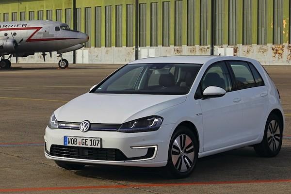 VW e-Golf Norway 2014