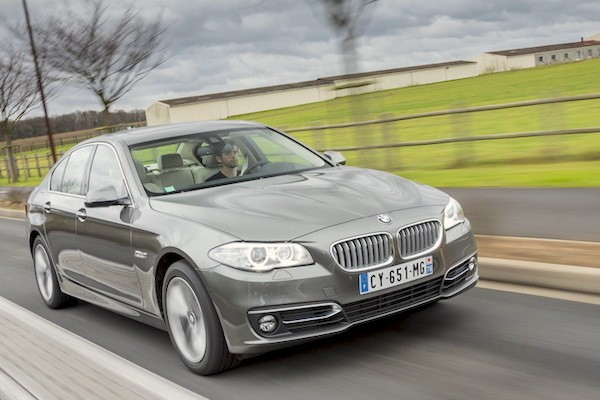 BMW 5 Series World 2014. Picture courtesy largus.fr