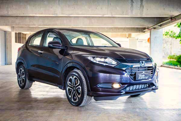 Honda HR-V Indonesia January 2015. Picture courtesy autobild.co.id