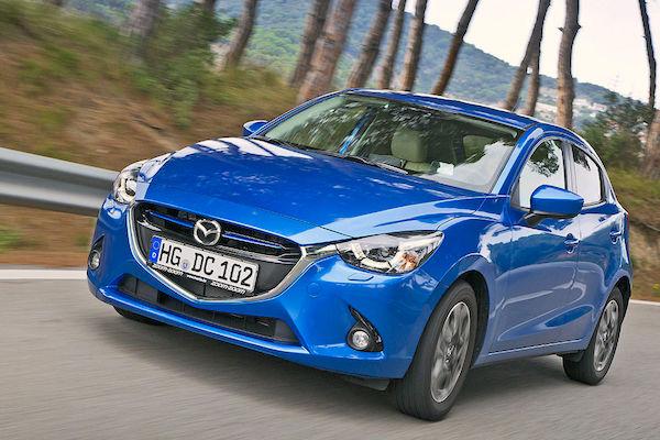 Mazda2 Switzerland January 2015. Picture courtesy autobild.de