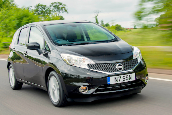 Nissan Note UK 2014