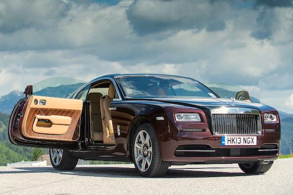 Rolls-Royce Wraith UK 2014
