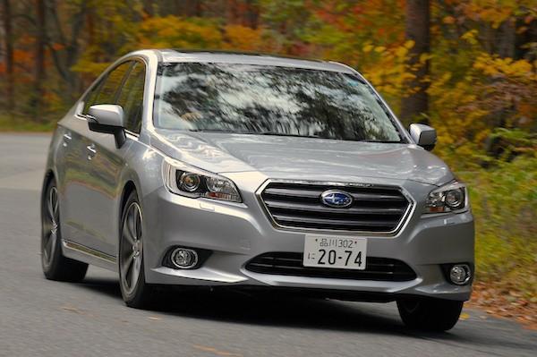 Subaru Legacy Japan January 2014. Picture courtesy of jp.autoblog.com