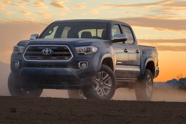 Toyota Tacoma USA 2014. Picture courtesy motortrend.com