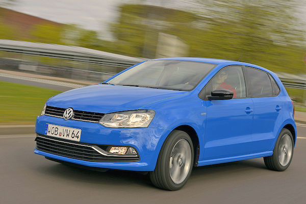 VW Polo Croatia January 2015. Picture courtesy autobild.de