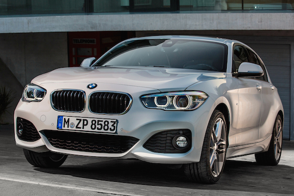 BMW 1 Series UK February 2015