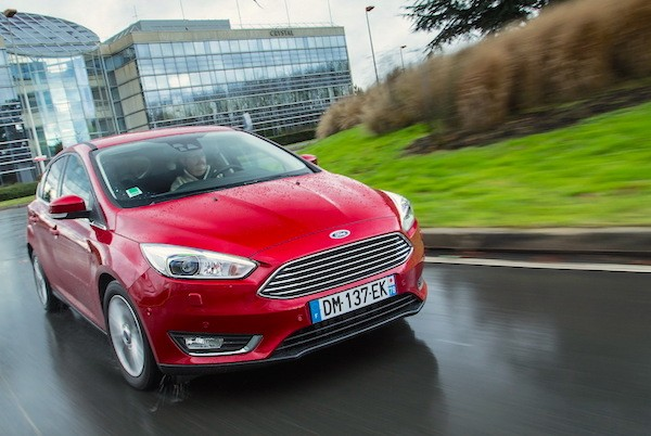 Ford Focus Spain March 2015. Picture courtesy largus.fr
