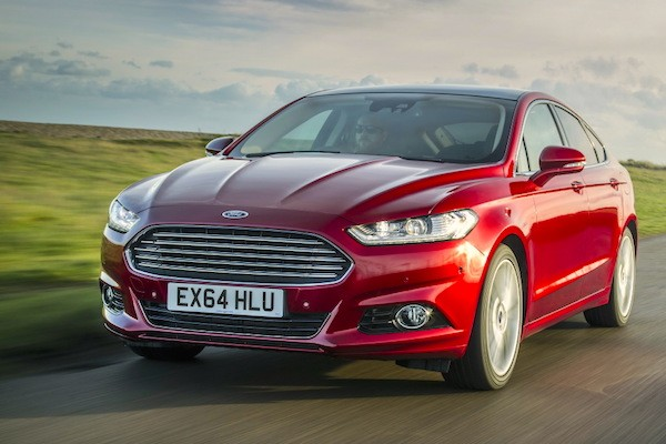 Ford Mondeo France March 2015