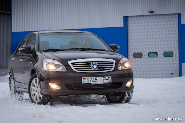 Geely SC7 Belarus 2014. Picture courtesy auto.onliner.by