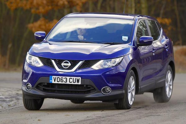 Nissan Qashqai UK 2015. Picture courtesy autocar.co.uk
