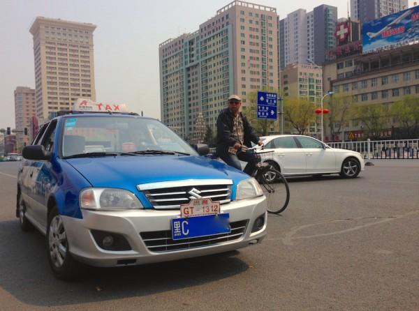 1. Suzuki Lingyang taxi Mudanjiang