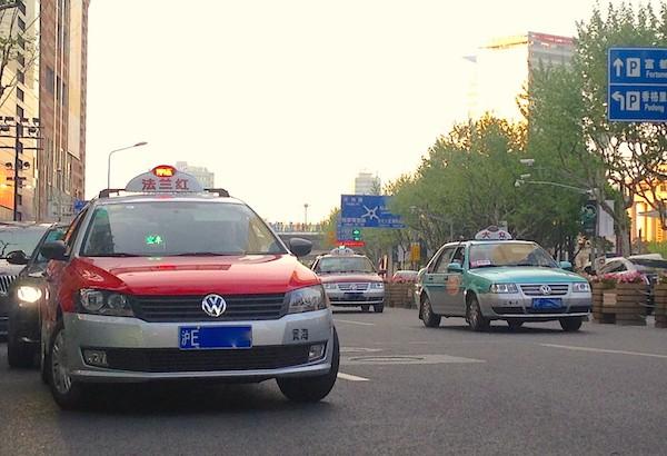 3. VW Lavida Taxi Shanghai
