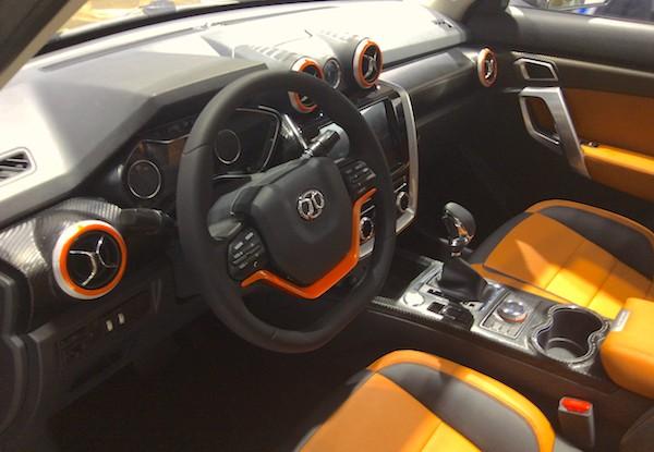 9. BAW BJ20 interior
