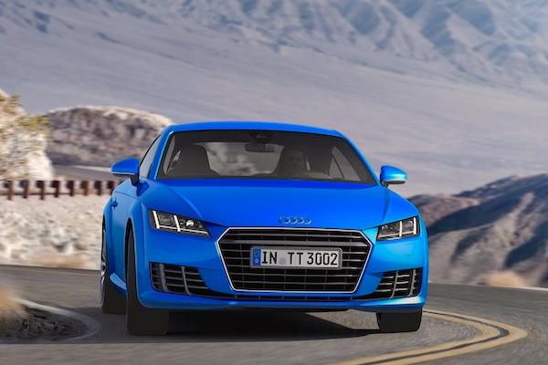 Audi TT France March 2015. Picture courtesy largus.fr