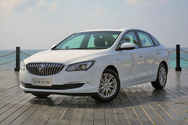Buick Excelle GT China March 2015. Picture courtesy ifeng.com.cn