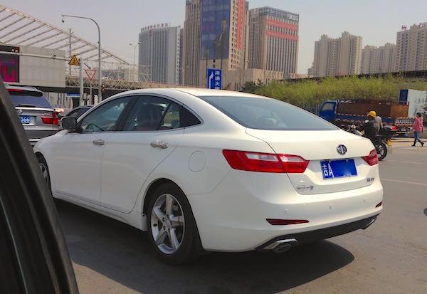 FAW Besturn B70 Changchun 2