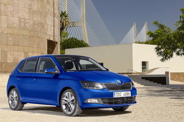 Skoda Fabia Serbia March 2015. Picture courtesy largus.fr