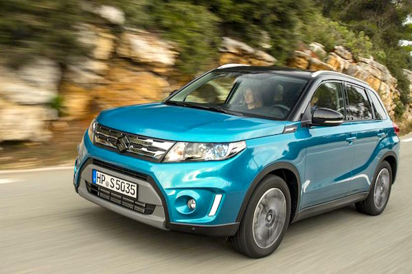 Suzuki Vitara Romania August 2015. Picture courtesy whatcar.co.uk