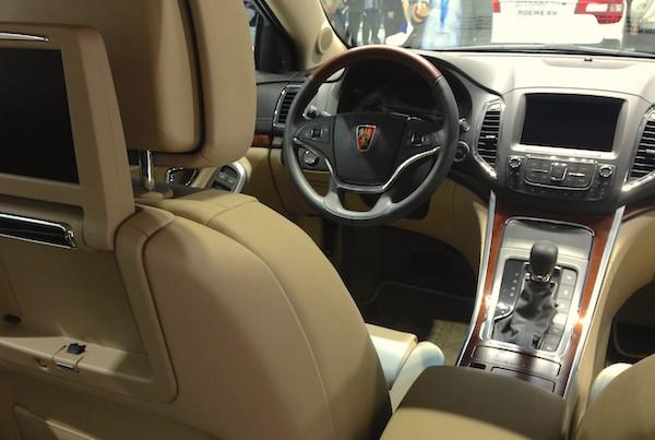 46. Roewe 950 interior