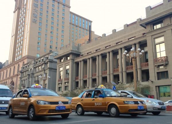 7. VW Jetta taxi Harbin