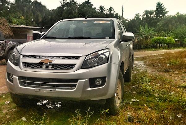 Chevrolet D-Max Ecuador 2014. Picture courtesy autoshowmagazine.com
