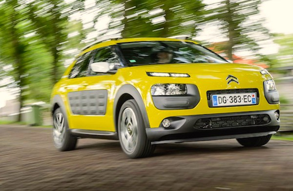 Citroen C4 Cactus Europe June 2015. Picture courtesy carmagazine.co.uk