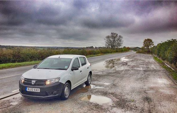Dacia Sandero Scotland November 2015. Picture courtesy honestjohn.co.uk