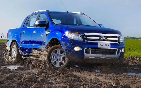 Ford Ranger South Africa April 2015