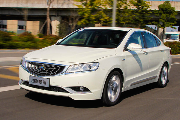 Geely GC9 China April 2015. Picture courtesy auto.ifeng.com