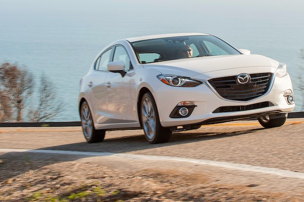 Mazda3 Chile April 2015. Picture courtesy motortrend.com
