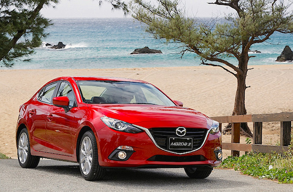 Mazda3 Colombia June 2016. Picture courtesy u-car.com.tw