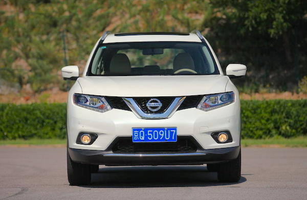 Nissan X-Trail China June 2015. Picture courtesy auto.qq.com