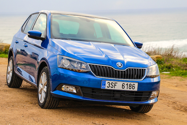 Skoda Fabia Czech Republic August 2015. Picture courtesy rad-ab.com