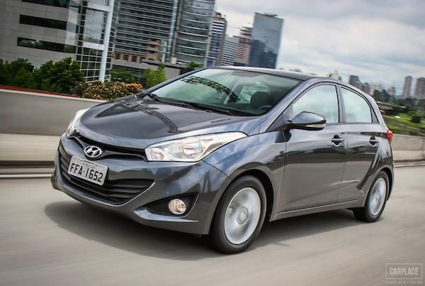 Hyundai HB20 Brazil May 2015. Picture courtesy carplace.uol.com.br