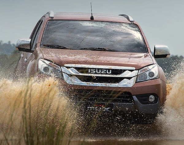 Isuzu MU-X Philippines May 2015