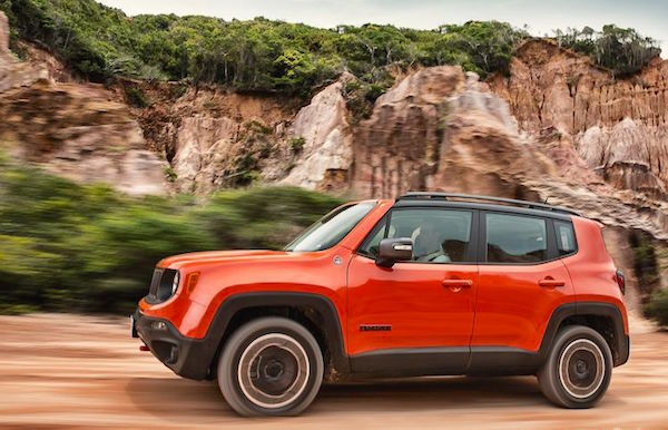 Jeep Renegade Brazil 2015