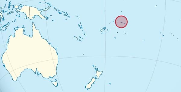 Samoa location