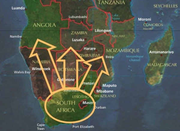 Southern Africa revised