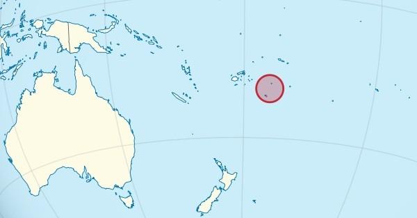 Tonga location