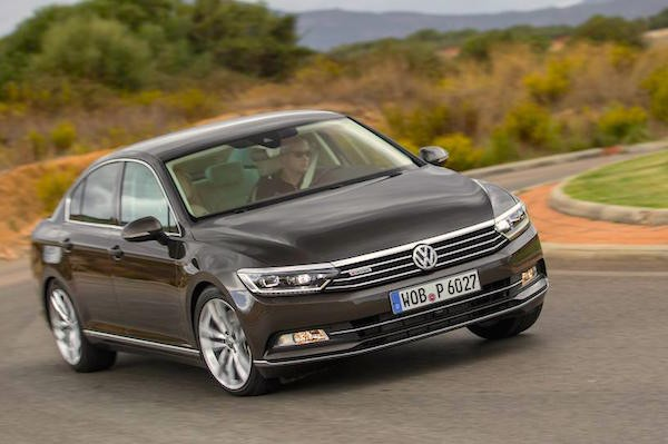 VW Passat Germany 2015. Picture courtesy caranddriver.com