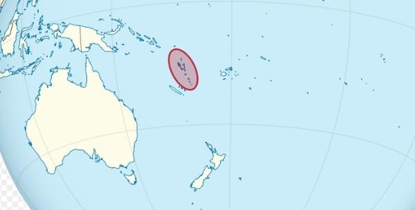 Vanuatu location