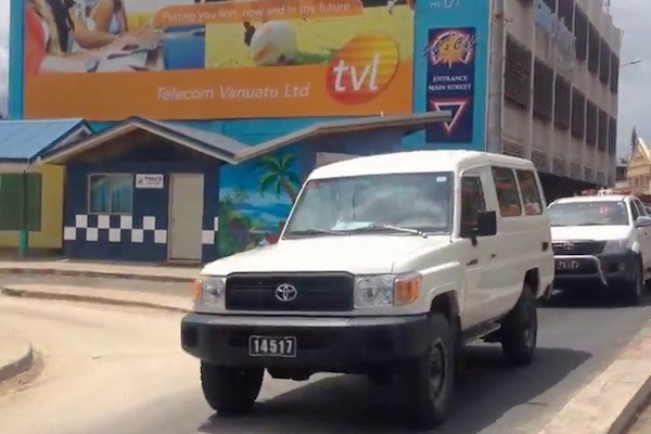 Vanuatu street scene