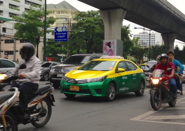 4. Toyota Corolla Taxi Bangkok July 2015