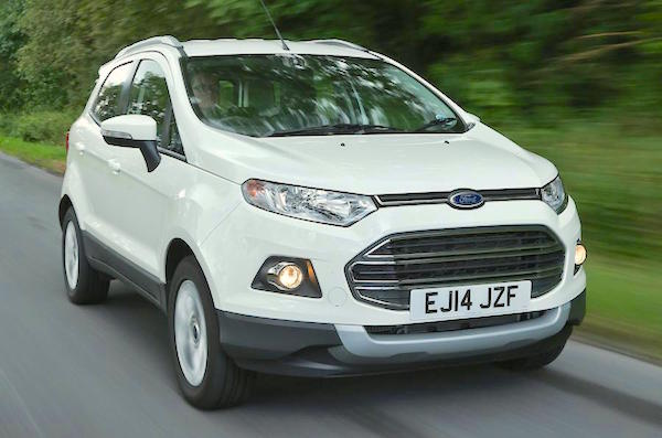 Ford Ecosport Italy June 2015. Picture courtesy autocar.co.uk