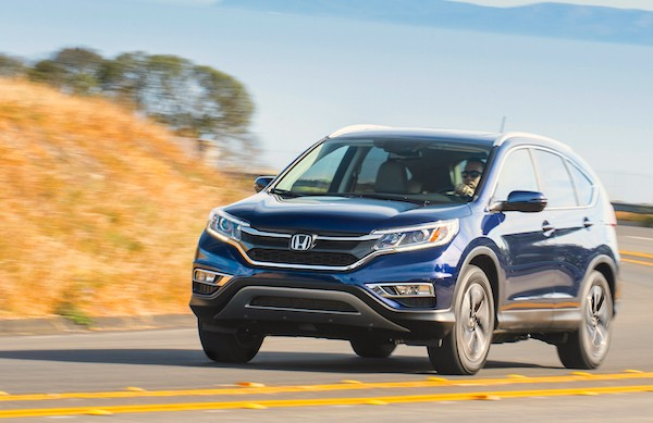 Honda CR-V USA August 2016. Picture courtesy motortrend.com