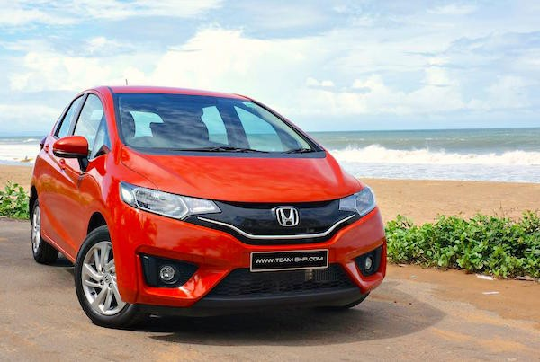 Honda Jazz India June 2015. Picture courtesy team-bhp.com