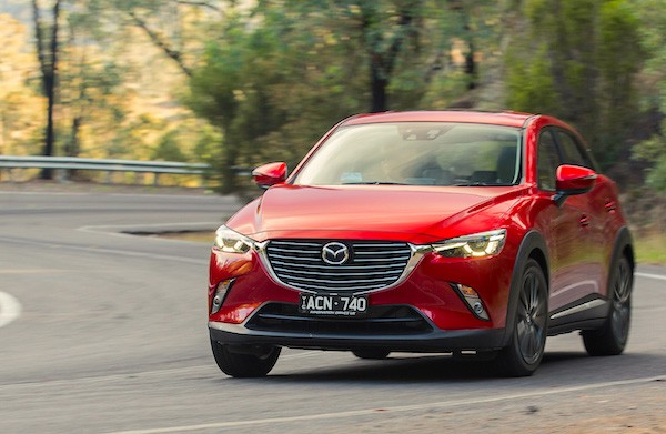 Mazda CX-3 Croatia February 2016. Picture courtesy caradvice.com.au