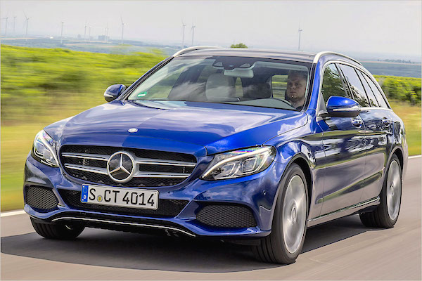 Mercedes C Class Germany June 2015. Picture courtesy auto-news.de