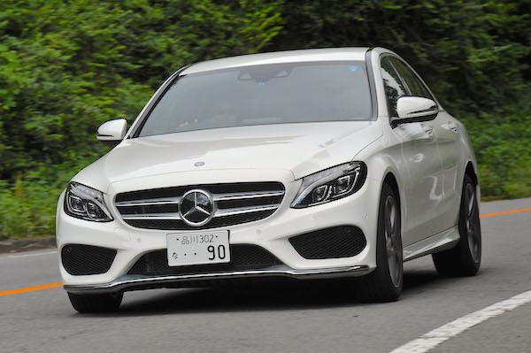 Mercedes C Class Japan June 2015. Picture courtesy aolcdn.com