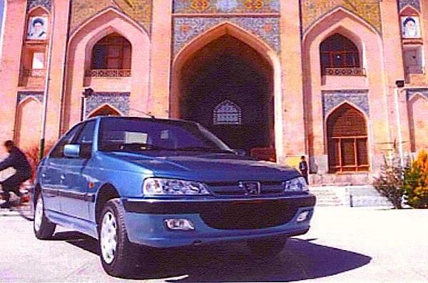 Peugeot Pars Iran 2015